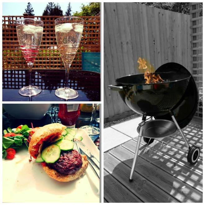 The first BBQ of the Summer called for some tasty venison burgers