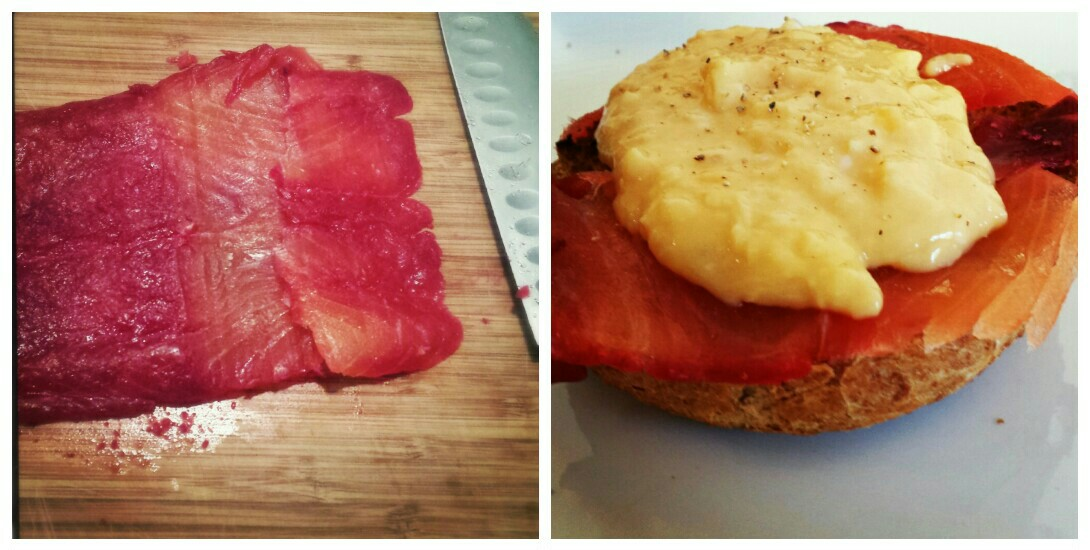 Beetroot cured salmon gravlax is an impressive homemade alternative to ...